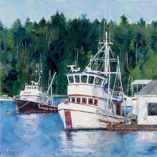 Dockton Fishing Boats